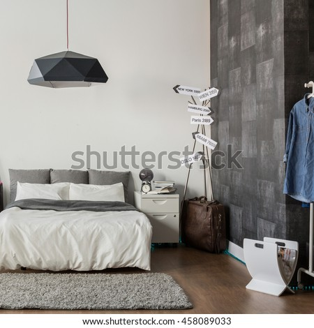 Image of new design bedroom with king size bed. Bedroom Stock Images  Royalty Free Images   Vectors   Shutterstock