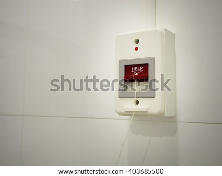 Image of Nurse Call Switch in hospital