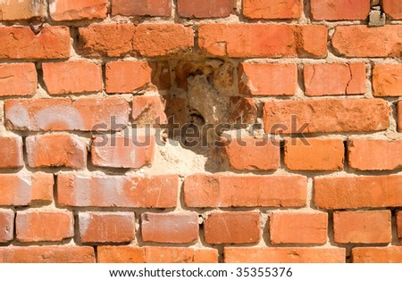 image of old brick wall