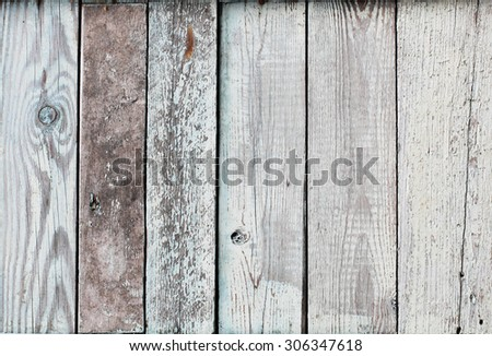 Image of painted blue weathered vintage wood panel texture - stock photo