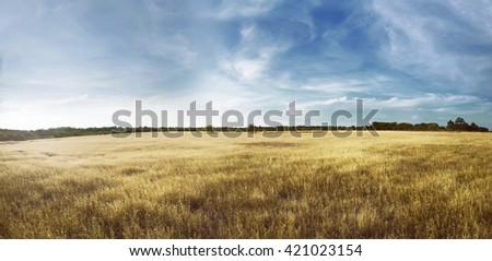 Image of para kambera landscape on east sumba, indonesia - stock photo