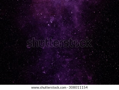 image of pink stars in the galaxy. Some elements of this image furnished by NASA - stock photo