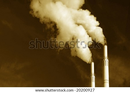 Image of Power Plant emission