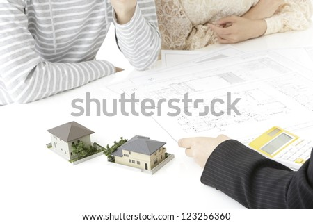 Image of real estate - stock photo