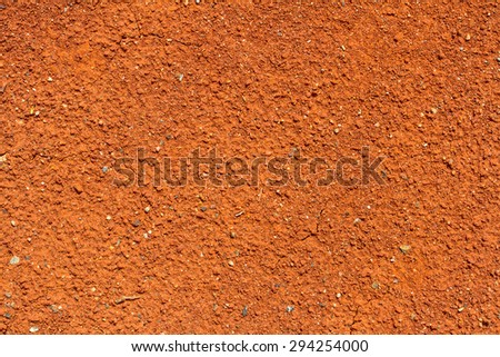 Image of red soil texture