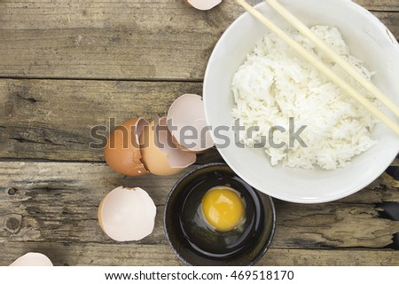 Image of Rice With Eggs.