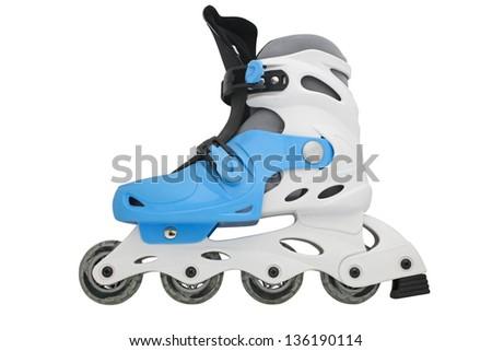 Image of roller skate under the light background - stock photo