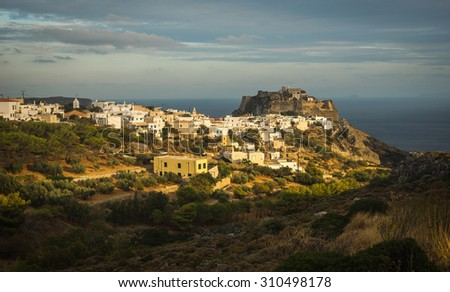 Image of scenic and beautiful cityscape, Kythira, Greece