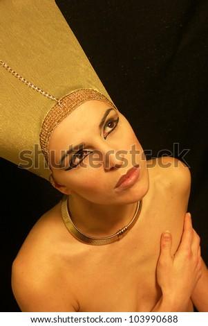 Image of the Pharaoh - stock photo