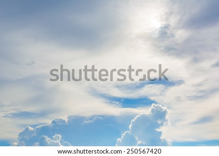 image of Weather Storm is Coming with black clouds in the sky - stock photo