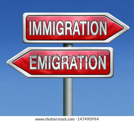 immigration and emigration migration migrate to or from country urbanization visa or green card to become citizen