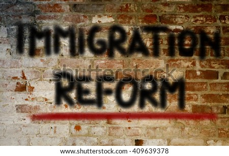 Immigration Reform Concept
