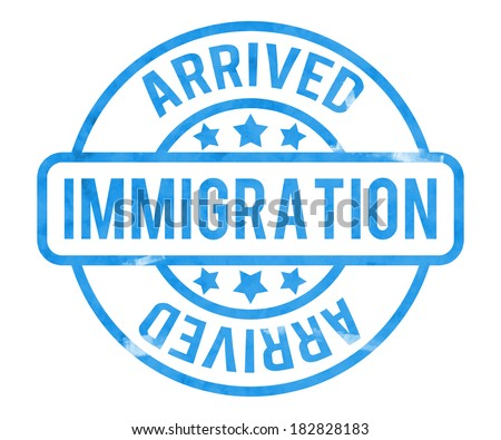 Immigration Stamp Stock Images Royalty Free Images