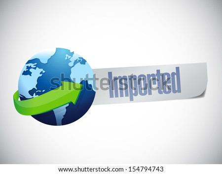 import globe world map illustration design over a blue background