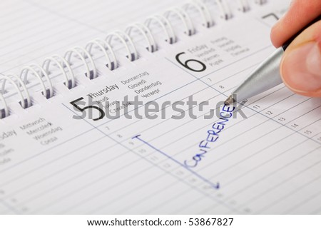 Important Conference - stock photo