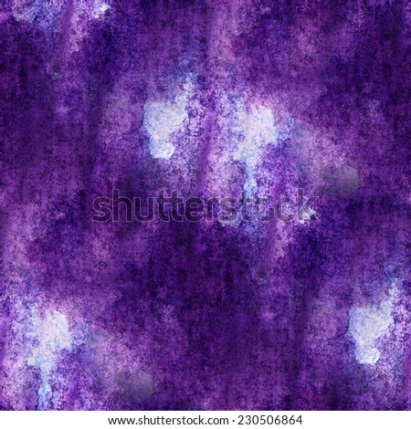 impressionism  artist purple, blue  seamless  watercolor wallpaper texture of handmade