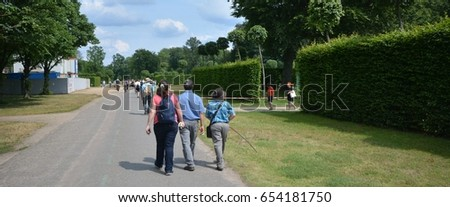 Impressions from the park Sanssouci in Potsdam from 5 June 2017, Brandenburg Germany