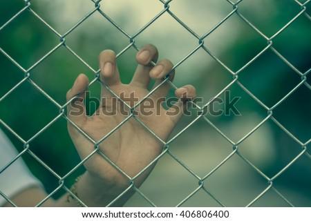 Imprison.Photo Imprison concept.Jail concept - stock photo