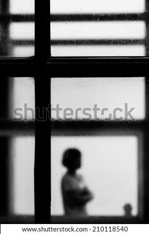 imprison the soul - stock photo