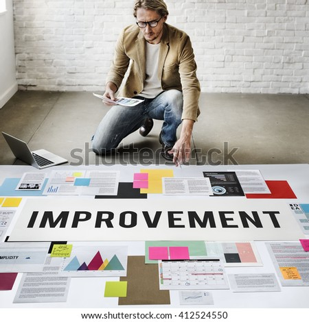 Improve Innovation Progress Reform Better Concept - stock photo