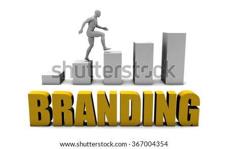 Improve Your Branding  or Business Process as Concept - stock photo