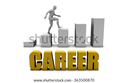 Improve Your Career  or Business Process as Concept - stock photo