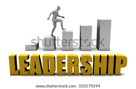 Improve Your Leadership  or Business Process as Concept - stock photo