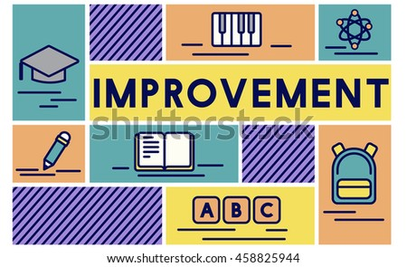 Improvement Advance Motivation Potential Education Concept - stock photo