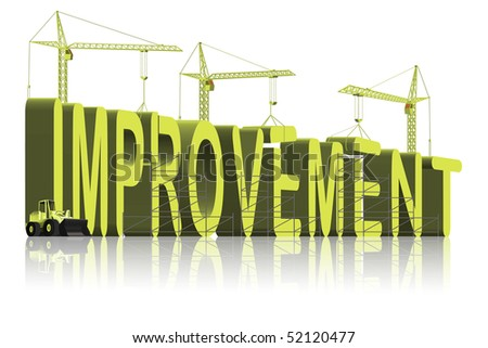 improvement make things better progress growth find solutions make a change