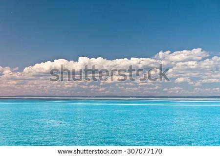 In a Daydream Heaven Horizon  - stock photo