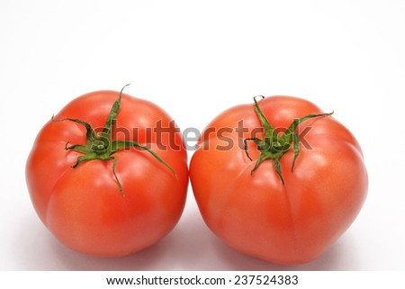 In a healthy life, fresh vegetables/Fresh tomato