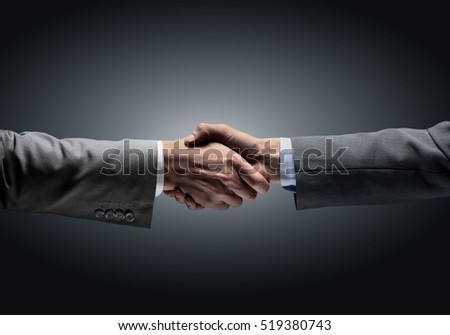 in a sign of assistance and cooperation - to reach each other's