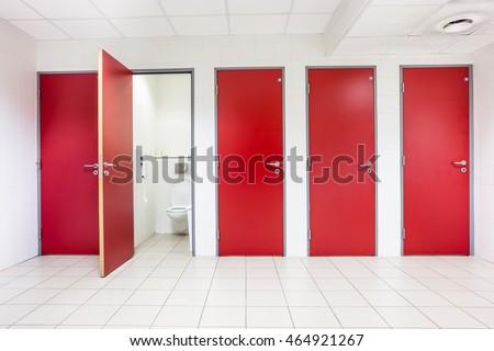 Toilet Door Stock Images Royalty Free Images Vectors Shutterstock