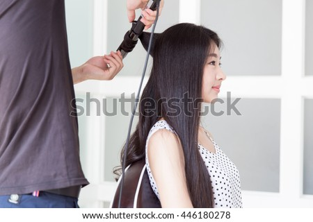 Chinese hair salon assistant - 3 5