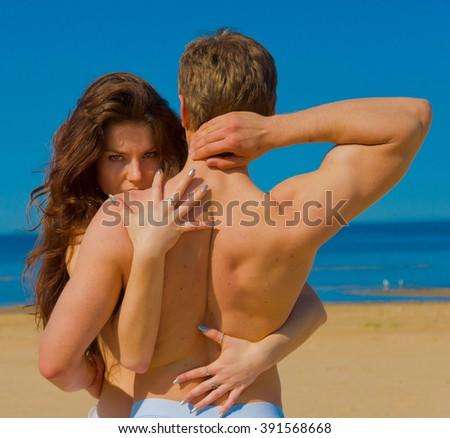 In Love Friends Honeymoon  - stock photo