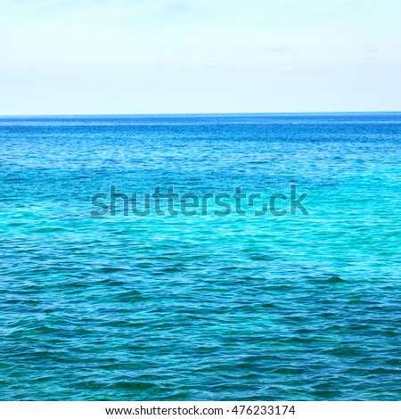 in Oman background of water sea and sky
