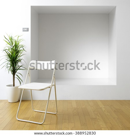 in the room - stock photo