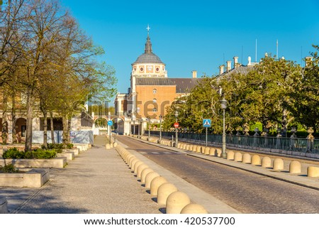 In the streets of Aranjuez city - Spain