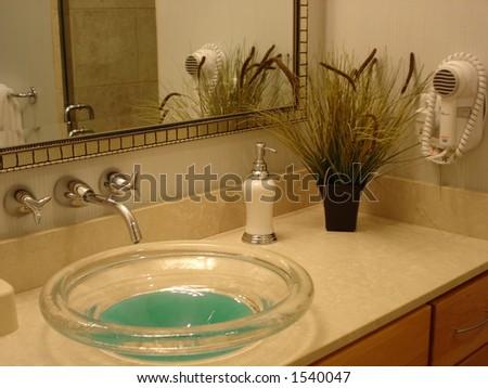 In The Toilet - stock photo