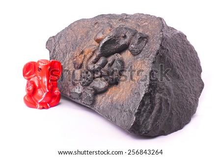 Incarnation of Lord Ganesha - stock photo