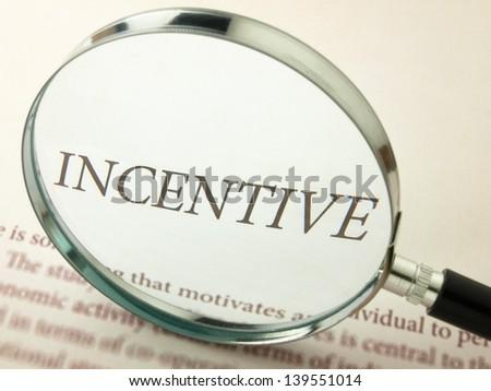 Incentive - stock photo