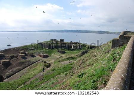 Inchkeith View - stock photo