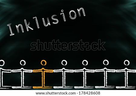 Inclusion of disabled people in society (Inklusion is German)