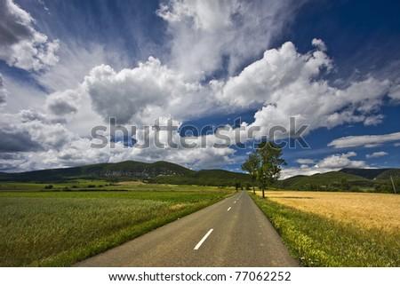 Incrdible sky - stock photo