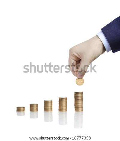 Increase your wealth - stock photo