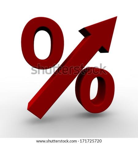 Increasing Prices - stock photo