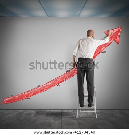 Increasing profits - stock photo
