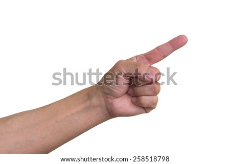 Index Finger - stock photo