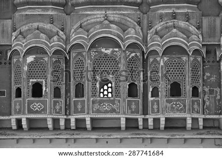 INDIA, Rajasthan, Jaipur, the Four Winds Palace