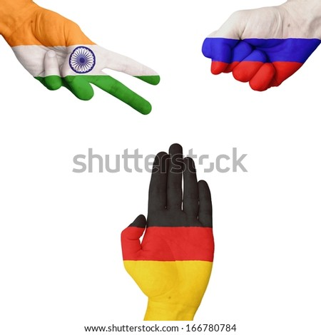 India Russia Germany Rock-Paper-Scissors